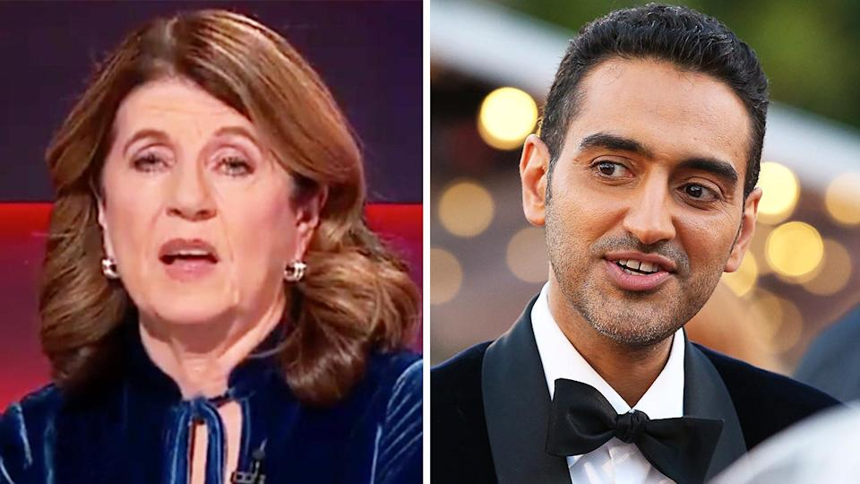 Veteran AFL reporter Caroline Wilson (pictured left) during Footy Classified and Richmond supporter and reporter Waleed Aly (pictured right) at the Logie Wards.