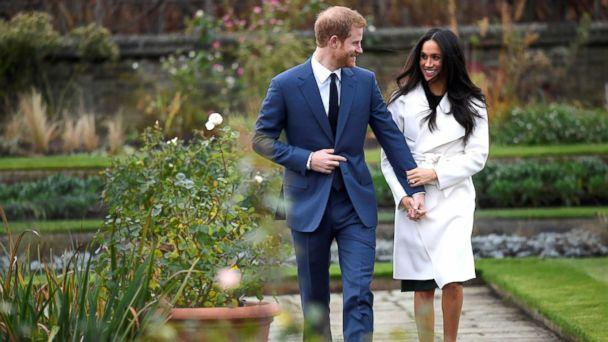 PHOTO: Britain's Prince Harry arrives with Meghan Markle for their engagement announcement at Kensington Palace, London, Nov. 27, 2017. (Toby Melville/Reuters)