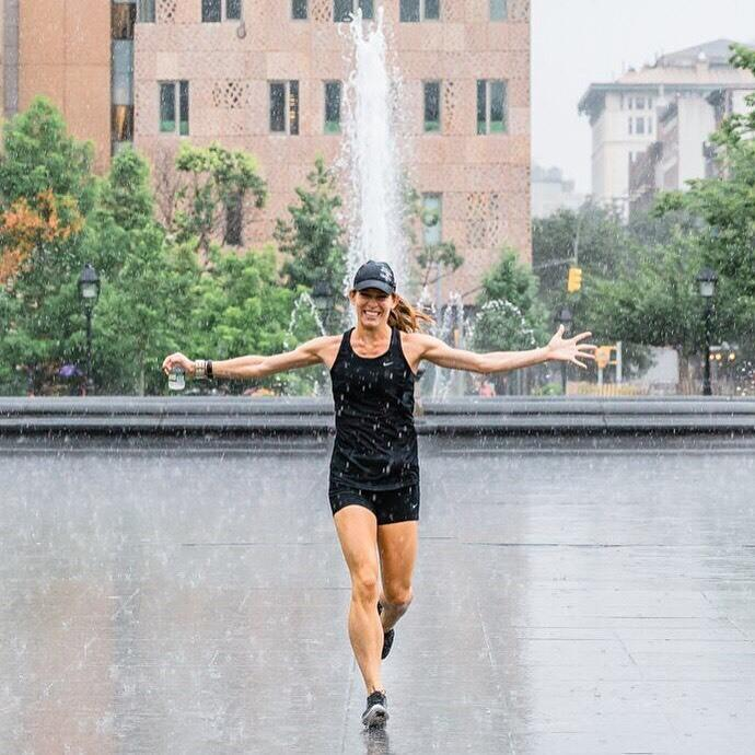 """<p>I have competed in some form of running since the 7th grade all through college, so running marathons (and more specifically ultramarathons) is a perfect way to fuel my inner competitive fire.</p><p><i>—Jessica Woods, 30, Brooklyn, New York. Finisher of more than 10 marathons, ambassador for <a href=""""http://indiefresh.com"""">Indie Fresh</a>.</i></p>"""