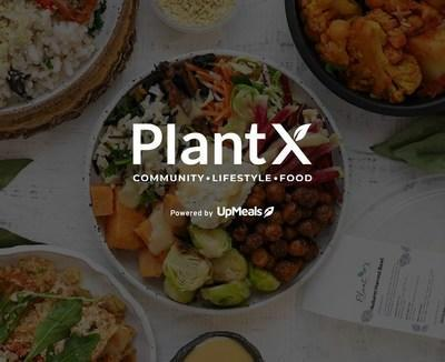 UpMeals Announces Partnership With PlantX As A Part of U.S. Expansion (CNW Group/UpMeals)