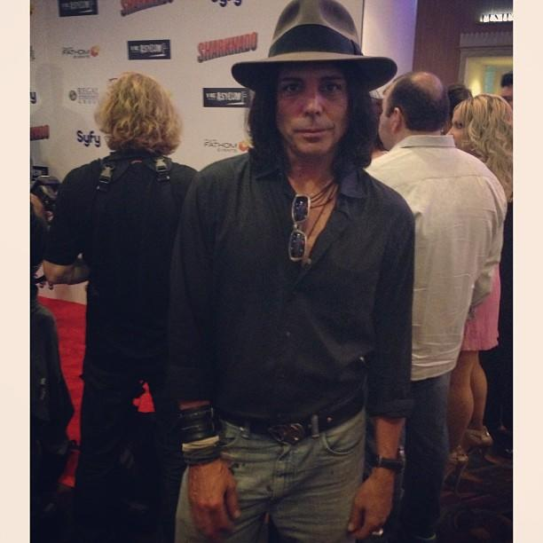 Up close with Richard Grieco. #21jumpstreet in the house! #sharknado #redcarpet
