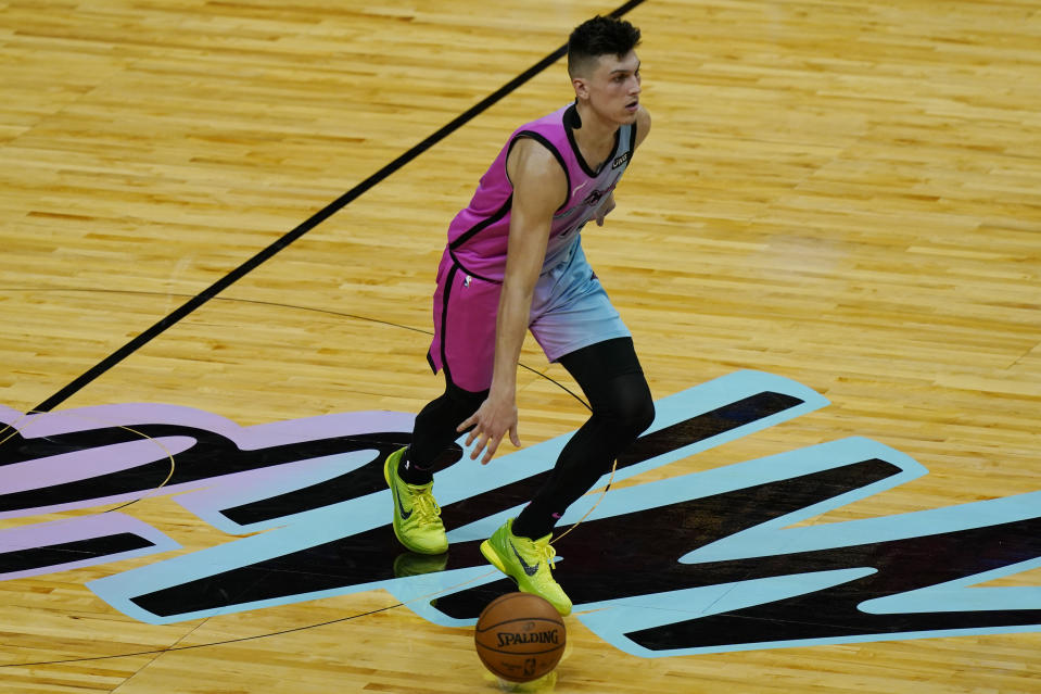Miami Heat guard Tyler Herro