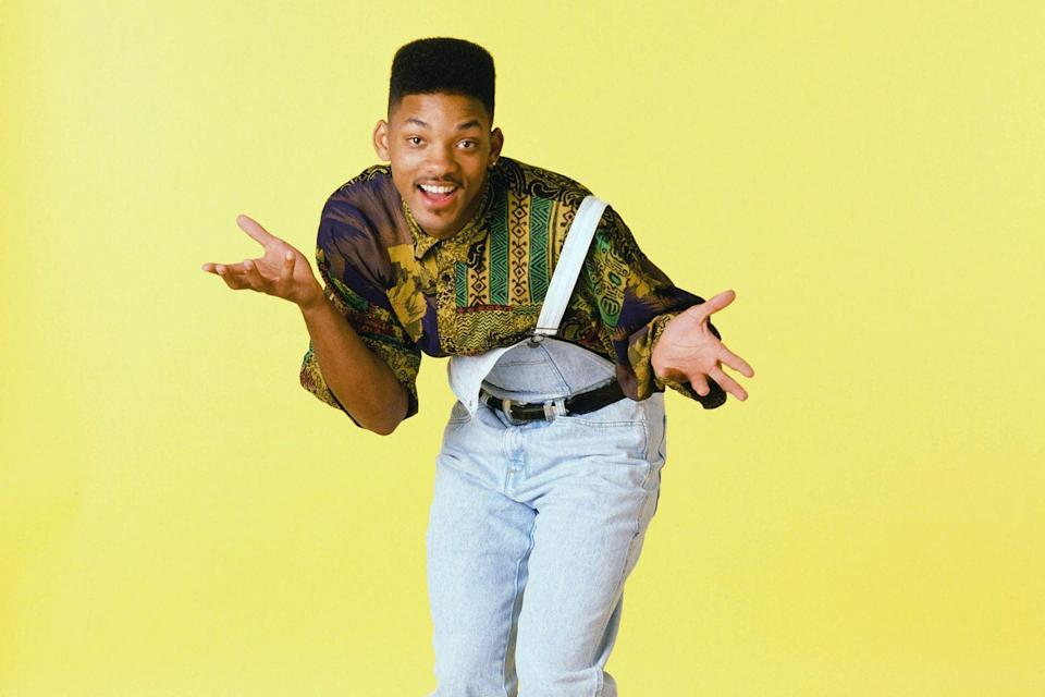 <p>Will Smith in <em>The Fresh Prince of Bel-Air </em>in 1990.</p>