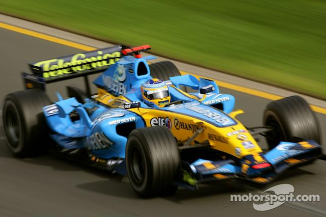 "2006 Fernando Alonso, Renault <span class=""copyright"">Motorsport Images</span>"