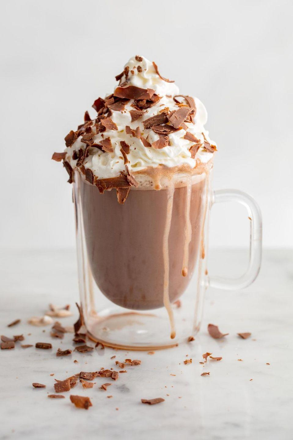 <p>Yes, it's as AMAZING as it sounds. Pour the extra sauce over ice cream. Or just make a ton of hot chocolate.</p><p>Get the Brownie Batter Hot Chocolate recipe.</p>