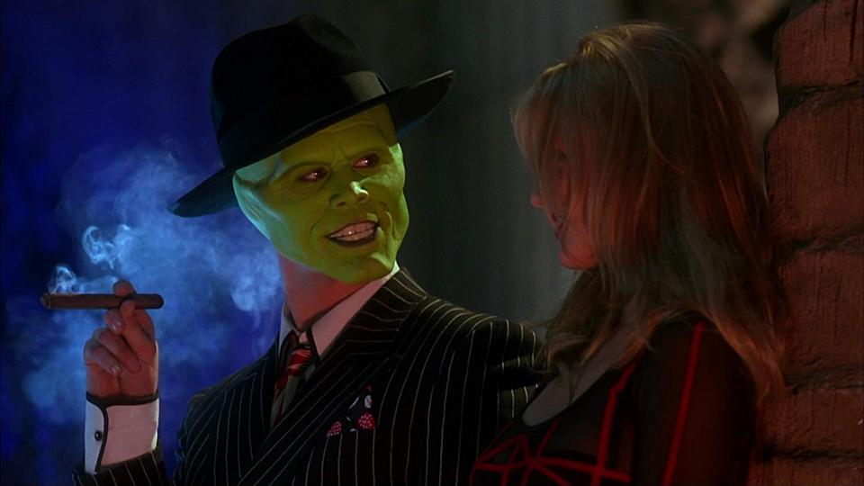 Jim Carrey and Cameron Diaz in the hit 1994 comedy