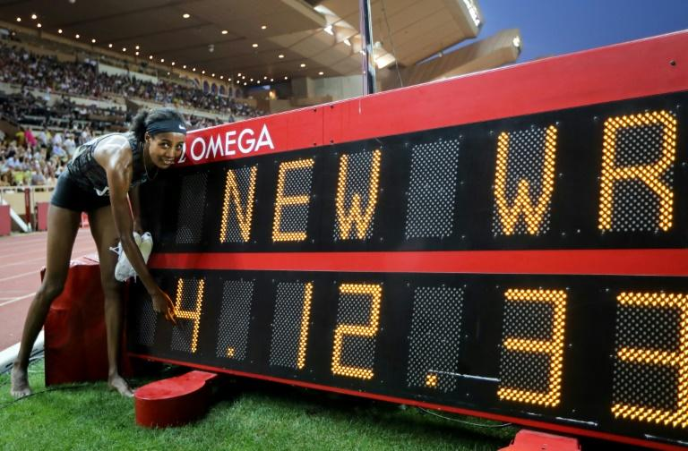 Sifan Hassan set a new women's mile record in Monaco
