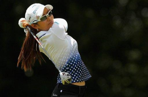 Japan's Ai Miyazato came from behind to win the NW Arkansas Championship for her second victory of the year