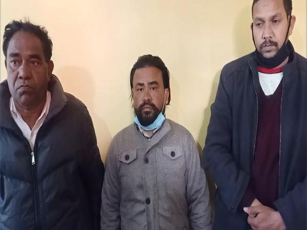 Visual of accused being taken for investigation by team of Uttarakhand STF.
