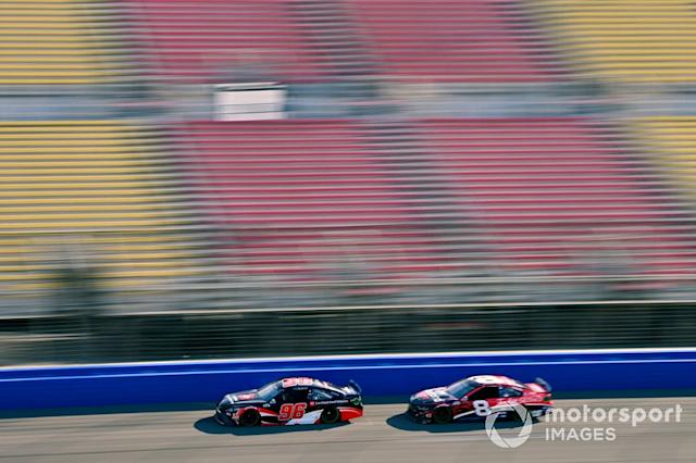 """Daniel Suarez, Gaunt Brothers Racing, Toyota Camry Toyota Certified Used Vehicles and Tyler Reddick, Richard Childress Racing, Chevrolet I Am Second <span class=""""copyright"""">Nigel Kinrade / NKP / Motorsport Images</span>"""