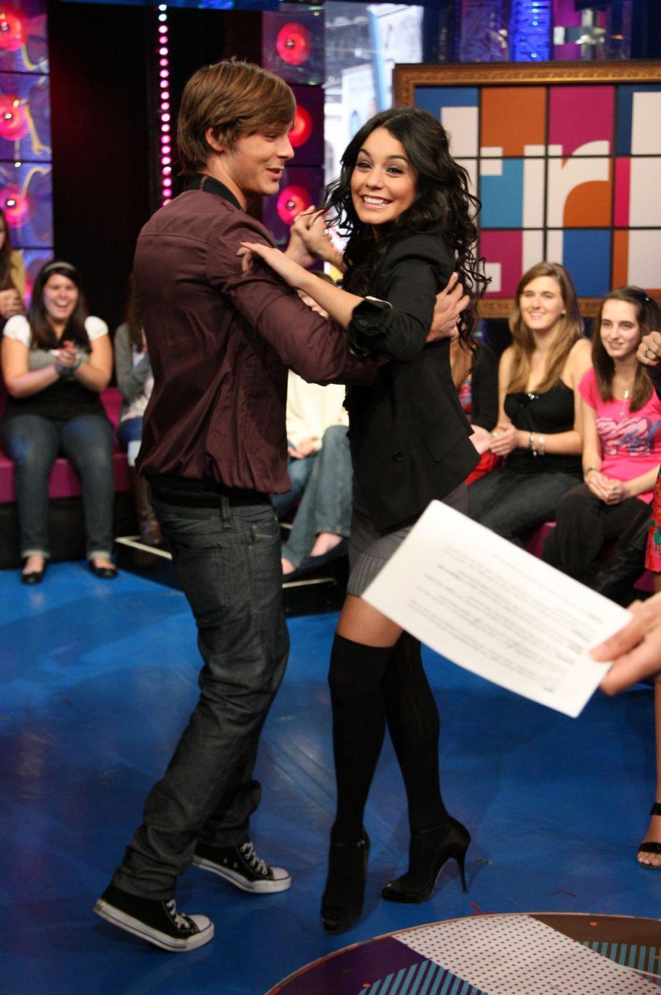 <p>Did you know he and Vanessa Hudgens danced together??!?!?!?! Exactly.</p>