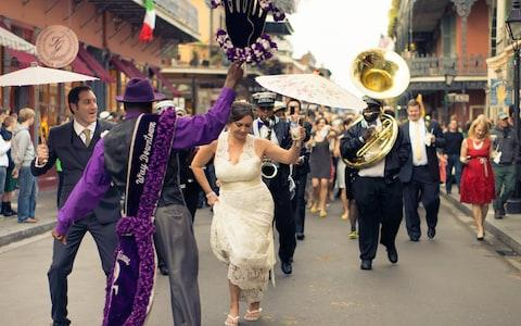 second line, new orleans - Credit: TRUNG LE