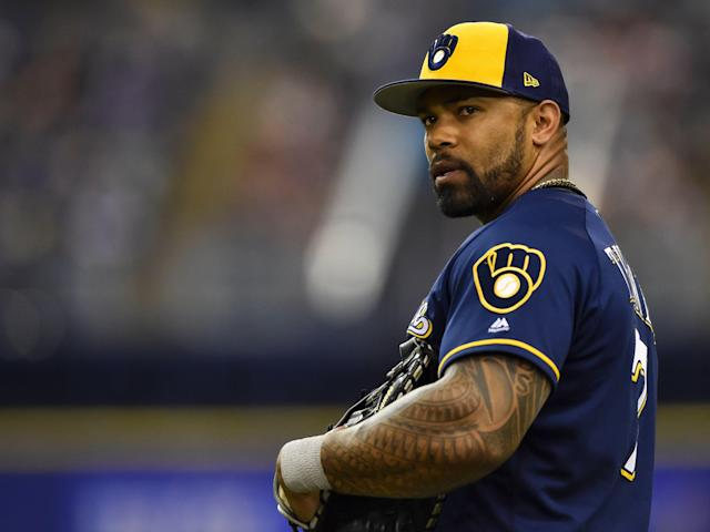 Eric Thames is trying to rediscover his approach. (Getty Images)