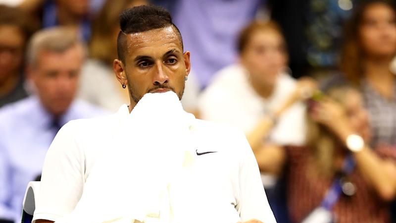 Nick Kyrgios is being investigated over two recent controversies.