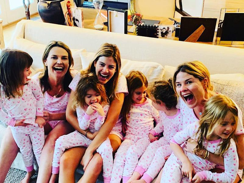 Savannah Guthrie Jenna Bush Hager And Siri Daly Enjoy Getaway With Their Kids Upstate Of Mind