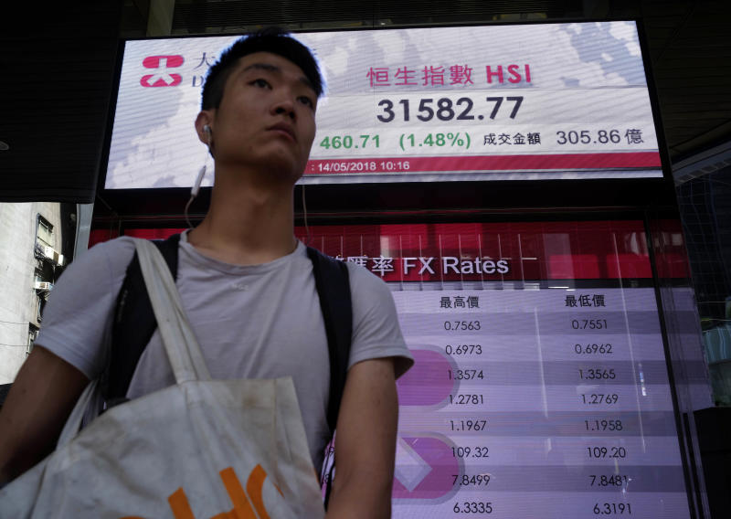 Global stocks mixed as Trump softens tone on trade
