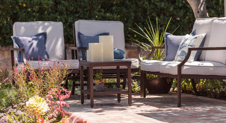 Popular outdoor furniture still in stock at John Lewis. (Getty Images)