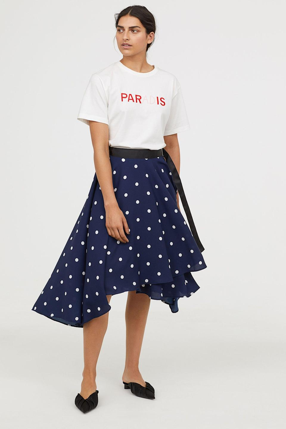 Swingy skirts are just more exciting. Available in sizes 0 to 10.