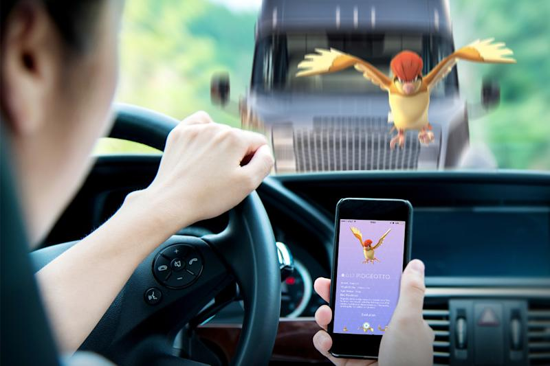 'Pokémon Go' just became even harder to play while driving