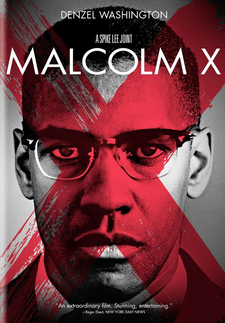 """<p><a class=""""link rapid-noclick-resp"""" href=""""https://www.amazon.com/Malcolm-X-Denzel-Washington/dp/B000QFQE4U?tag=syn-yahoo-20&ascsubtag=%5Bartid%7C10070.g.34963316%5Bsrc%7Cyahoo-us"""" rel=""""nofollow noopener"""" target=""""_blank"""" data-ylk=""""slk:STREAM NOW"""">STREAM NOW</a></p><p>This biographical drama traces the life of Muslim minister and civil rights activist Malcom X, including his troubled childhood, his incarceration, his conversion to Islam, and his eventual exile from the Nation of Islam, all leading up to his 1965 assassination. </p><p>__________________________________________________________</p><p> <a href=""""https://subscribe.hearstmags.com/subscribe/womansday/253396?source=wdy_edit_article"""" rel=""""nofollow noopener"""" target=""""_blank"""" data-ylk=""""slk:Subscribe to Woman's Day"""" class=""""link rapid-noclick-resp"""">Subscribe to Woman's Day</a> today and get <strong>73% off your first 12 issues</strong>. And while you're at it, <a href=""""https://subscribe.hearstmags.com/circulation/shared/email/newsletters/signup/wdy-su01.html"""" rel=""""nofollow noopener"""" target=""""_blank"""" data-ylk=""""slk:sign up for our FREE newsletter"""" class=""""link rapid-noclick-resp"""">sign up for our FREE newsletter</a> for even more of the Woman's Day content you want.</p>"""