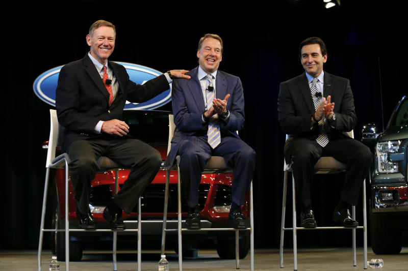 Task for Fields is to keep Ford on Mulally's path