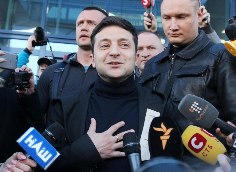 Why a new era of anti-politics will probably help a TV comedian win Ukraine's presidential election