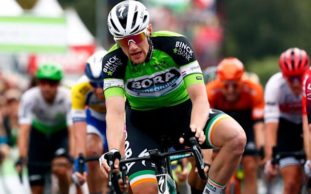 Ireland's Sam Bennett makes it back-to-back stage wins in Ardooie - Velo