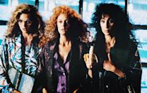 <p>This dark comedy stars Cher, Michelle Pfeiffer and Susan Sarandon as the witches of Eastwick, three dissatisfied women who lost their husbands and form a coven together to talk about their ideal man. They band together to destroy Daryl Van Horne, played by Jack Nicholson, a manipulative and abusive man who has intimate relationships with all three of them. <i>(Source: Everett Collection)</i></p>