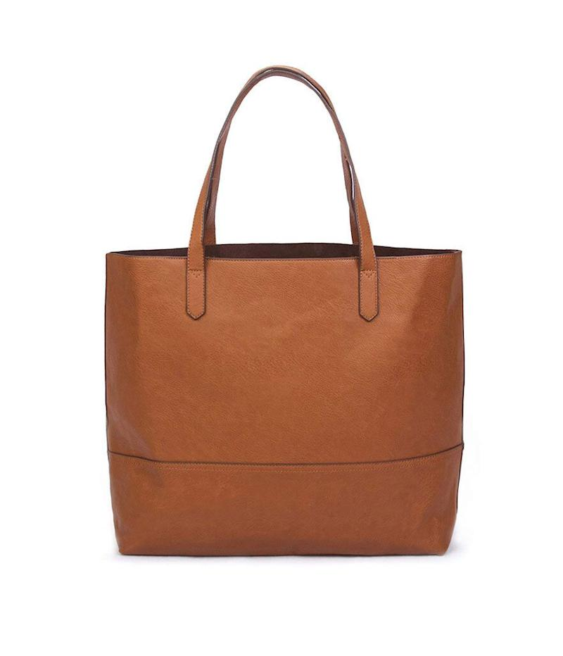 Overbrooke Large Vegan Leather Tote (Photo: Amazon)