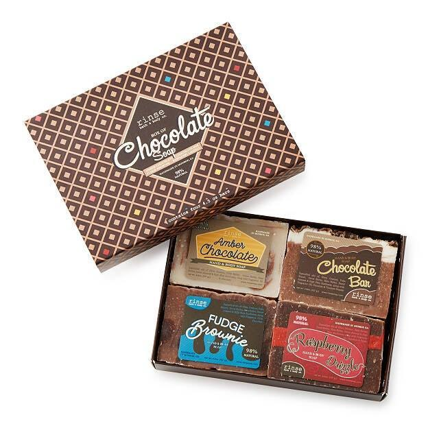 """<h2>Box of Chocolate Soaps</h2><br>They look like chocolate, but they're meant to cleanse your body and soul. Each of the soaps in this set by <a href=""""https://www.uncommongoods.com/product/box-of-chocolate-soaps#the-maker"""" rel=""""nofollow noopener"""" target=""""_blank"""" data-ylk=""""slk:Heather Swanepoel"""" class=""""link rapid-noclick-resp"""">Heather Swanepoel</a> is made from pure ingredients that satisfy your skin.<br><br><em>Shop <strong><a href=""""https://www.uncommongoods.com/artist/24201"""" rel=""""nofollow noopener"""" target=""""_blank"""" data-ylk=""""slk:Uncommon Goods"""" class=""""link rapid-noclick-resp"""">Uncommon Goods</a></strong></em><br><br><strong>Heather Swanepoel</strong> Box of Chocolate Soaps, $, available at <a href=""""https://go.skimresources.com/?id=30283X879131&url=https%3A%2F%2Ffave.co%2F2K3cfMW"""" rel=""""nofollow noopener"""" target=""""_blank"""" data-ylk=""""slk:Uncommon Goods"""" class=""""link rapid-noclick-resp"""">Uncommon Goods</a>"""