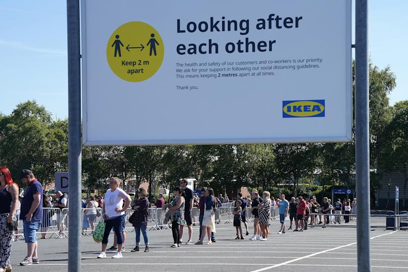 Image: Ikea Reopens Stores In England And Northern Ireland As Coronavirus Lockdown Eases (Christopher Furlong / Getty Images)