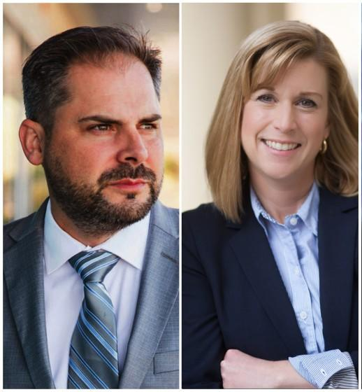 Mike Garcia and State Legislature Candidate Christy Smith