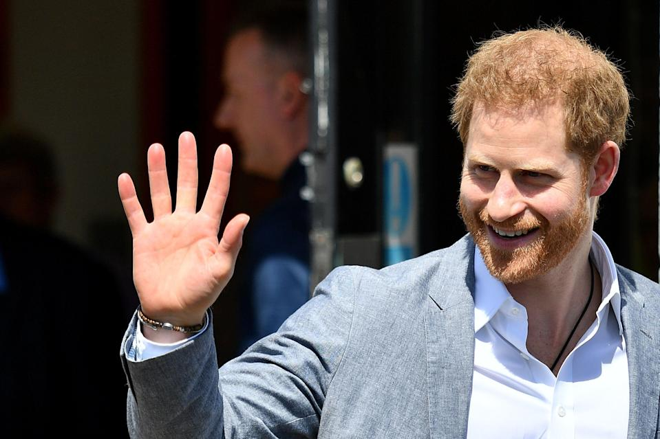The Duke of Sussex in Oxford [Photo: Getty]