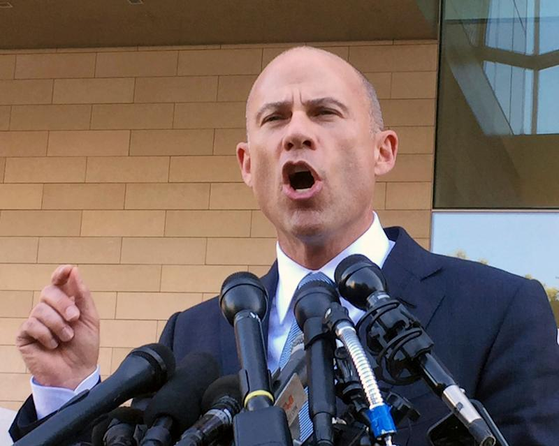 """Avenatti, who is an outspoken Trump critic, recently declared that he is """"seriously considering"""" running for president. (Photo: ASSOCIATED PRESS)"""