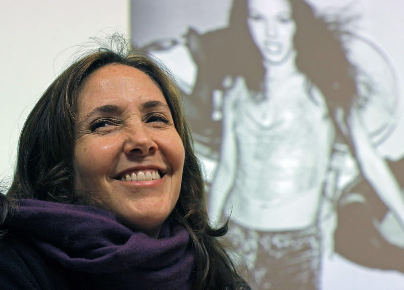 FILE - In this May 23, 2012 file photo, Mariela Castro, daughter of Cuban President Raul Castro, smiles while speaking to an academic conference at San Francisco General Hospital in San Francisco. Officials at the Equality Forum say Mariela Castro will attend the group's annual conference on gay rights in the weekend of May. The organization's executive director, Malcolm Lazin, said Tuesday, April 30, 2013, that the U.S. State Department reversed its initial decision denying a visa for Mariela Castro's visit.  (AP Photo/Eric Risberg, File)
