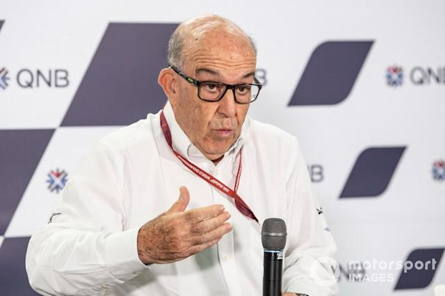 "Carmelo Ezpeleta, CEO Dorna <span class=""copyright"">Gold and Goose / Motorsport Images</span>"