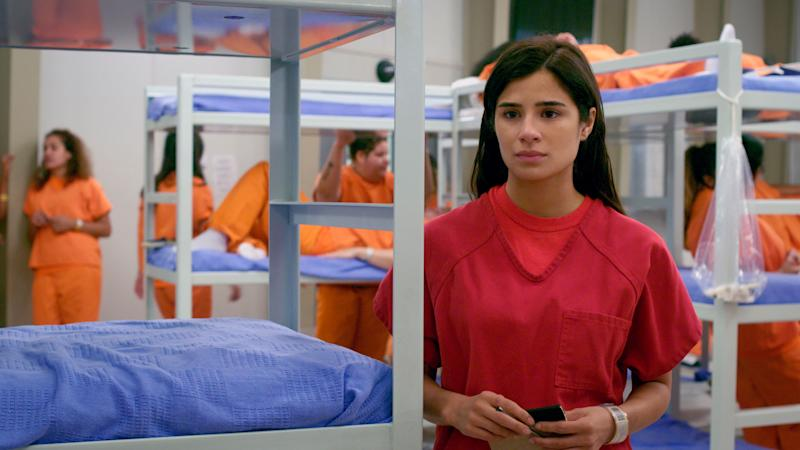 """Diane Guerrero in a scene from the final season of """"Orange is the New Black."""" (Photo: Courtesy of NETFLIX)"""