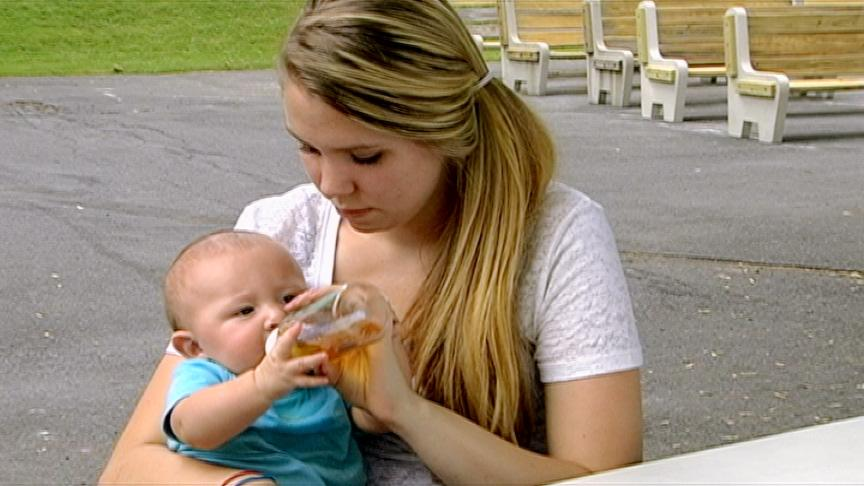 <b>Kailyn Lowry: Then</b><br><br>When Kailyn Lowry found out she was pregnant, she did her best to hide her secret for as long as she could. But when word got out and her relationship with her mother fell apart, Lowry moved in with her soon-to-be baby's daddy, Jo Rivera, and his family. Unfortunately, the pressures of parenthood took their toll and the young couple split. Still Lowry and her baby boy, Isaac (now 2), continued to live in the basement of her ex's Pennsylvania home. All that fell apart when Lowry met a new guy, and she was forced to move out while juggling two jobs and a full-time community college course load.