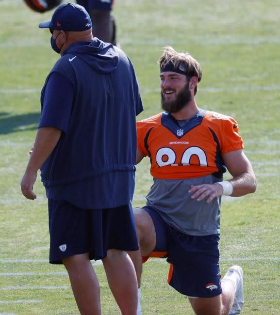 Broncos' Jake Butt a feel-good story on NFL's cutdown day
