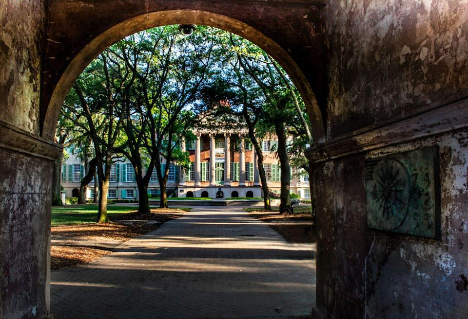 "<p><strong>Established in 1770</strong></p><p><strong>Location: Charleston, South Carolina<br></strong></p><p>The College of Charleston is known as the <a href=""http://cofc.edu/about/historyandtraditions/briefhistory.php"" rel=""nofollow noopener"" target=""_blank"" data-ylk=""slk:oldest educational institution"" class=""link rapid-noclick-resp"">oldest educational institution</a> south of Virginia, and was founded in a time when only wealthy families sent their sons to college. It's also the oldest college in South Carolina. </p>"
