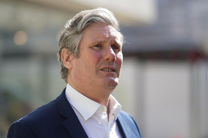 <p>Keir Starmer is not highly rated by voters in the consituency</p> (Getty Images)