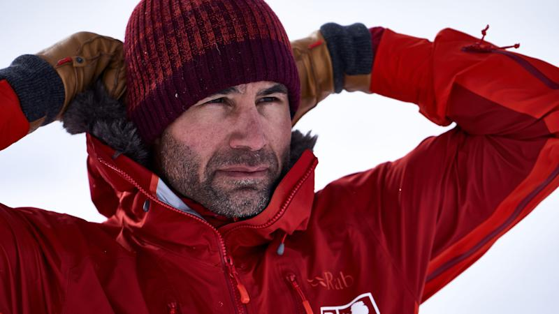 Ex-rugby player beats own South Pole British record