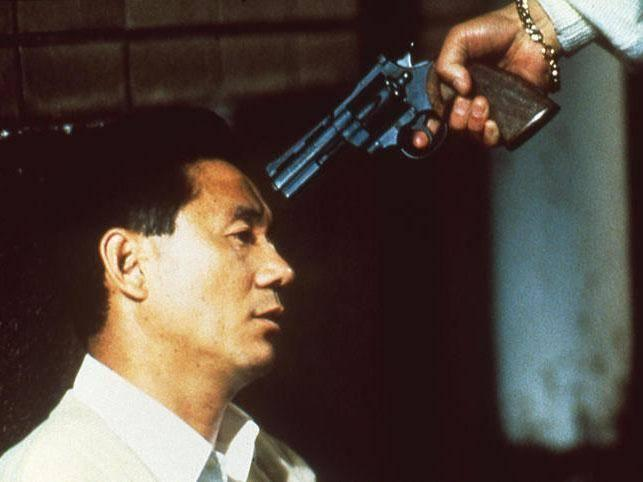 Miike's 'The Third Gangster' in which a small yakuza gang goes to war with a more powerful rival