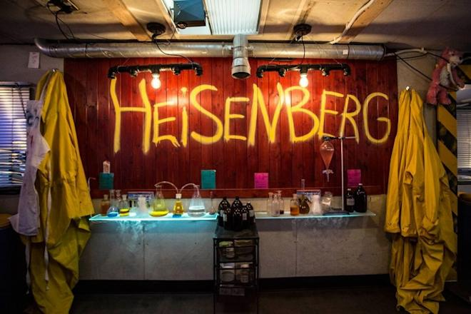 Breaking bad themed restaurant