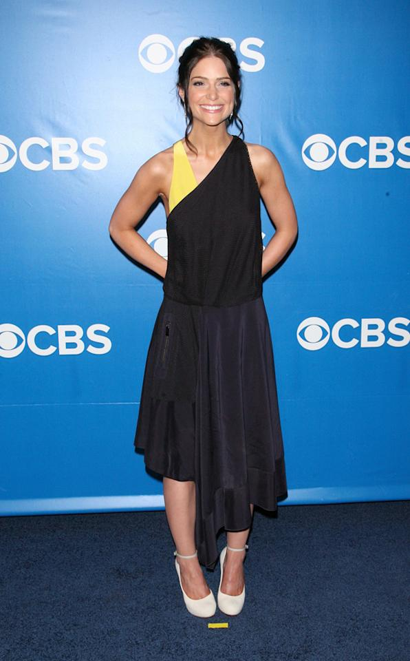 "Janet Montgomery (""Made in Jersey"") attends CBS's 2012 Upfront Presentation on May 16, 2012 in New York City."
