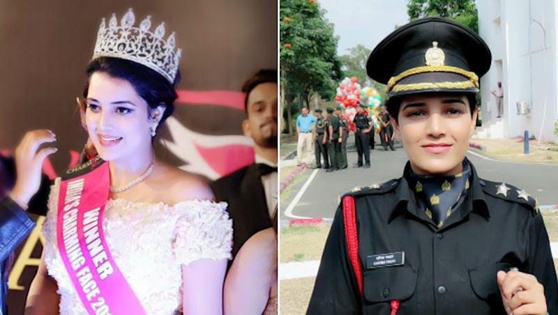 Beauty Pageant Winner Now an Army Officer, Netizens Go Gaga Over Lt. Garima Yadav's Life Journey