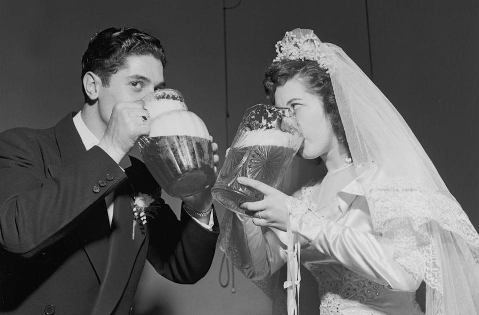 <p>With the war over, Americans were ready to eat, drink and be married! Their celebratory mood sparked the Baby Boomer generation. </p>
