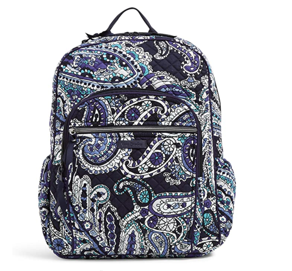 Women's Signature Cotton Campus Backpack (Deep Night Paisley)