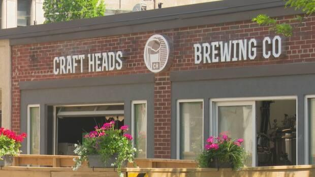Craft Heads Brewing Company is one of the businesses participating in the initiative to beautify the downtown core.