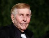 FILE PHOTO: Media magnate Sumner Redstone arrives at the Vanity Fair Oscar party in West Hollywood